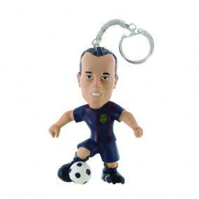 Comansi FC Barcelona - Andrés Iniesta focista kulcstartó