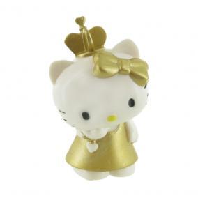 Comansi Hello Kitty játékfigura arany ruhában