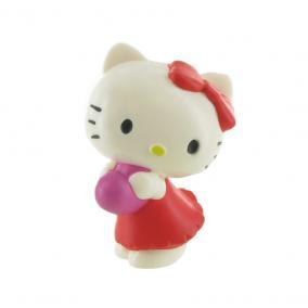 Comansi Hello Kitty játékfigura szívvel