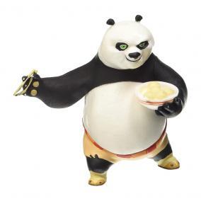Comansi Kung Fu Panda - Po eszik játékfigura
