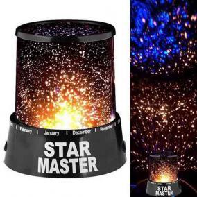 Csillagfény dekorációs LED lámpa