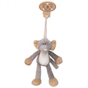 Csíptetős elefánt 16 cm Teddykompaniet