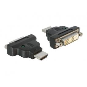 Delock adapter, HDMI (M) -> DVI-D (F) (24+1) Dual Link