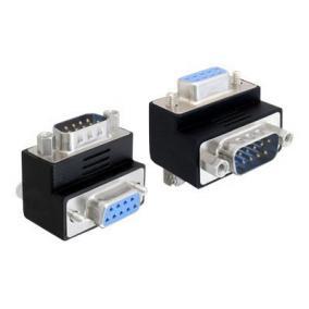 DELOCK 65266 Delock Adapter Sub-D 9 pin male > female 90° angled