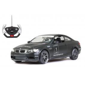 Deluxe távírányítós kisautó - BMW M3 Sport 1:14, fekete 403071 Jamara