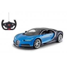 Deluxe távírányítós kisautó - Bugatti Chiron 1:14, kék 405135 Jamara