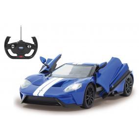 Deluxe távírányítós kisautó - Ford GT 1:14, kék 405158 Jamara