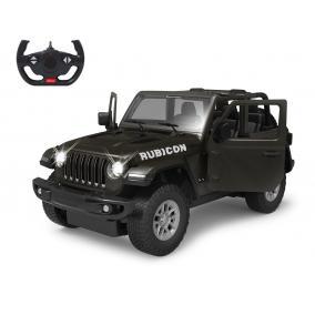 Deluxe távírányítós kisautó - Jeep Wrangler JL 1:14, fekete 405180 Jamara