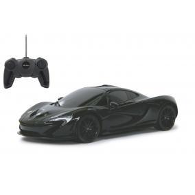 Deluxe távírányítós kisautó - McLaren P1 1:24, fekete 405102 Jamara