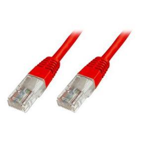 DIGITUS DK-1512-005/R Digitus Premium CAT 5e UTP patch kábel, hossza: 0.5m, piros