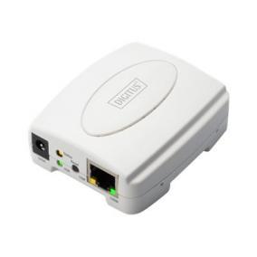 Digitus Fast Ethernet nyomtató szerver,USB, 1 x port
