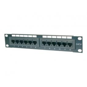 DIGITUS DN-91512U Digitus 10 CAT5e 12-portos UTP patch panel