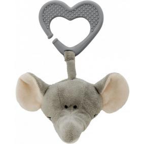 Diinglisar Wild, elefánt rágóka, 17 cm Teddykompaniet