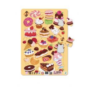 Dodo Keretes Puzzle 53 db - Finomágok