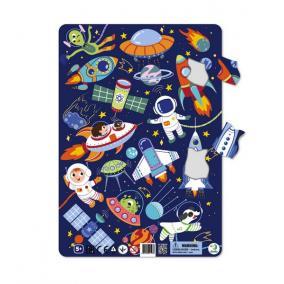 Dodo Keretes Puzzle 53 db - Űr
