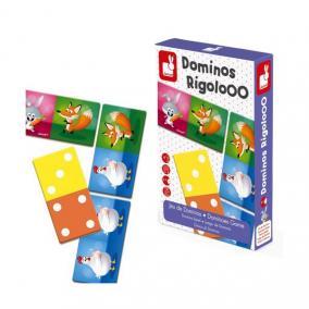 Dominos Rigolooo - domino játék Janod