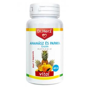 Dr.herz ananász-papaya kapszula [60 db]