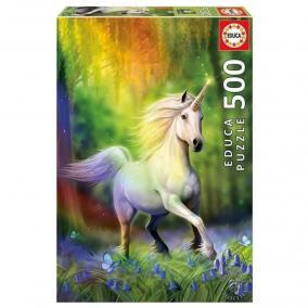 Educa A szivárvány nyomában puzzle, 500 darabos