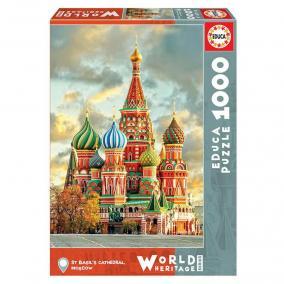 Educa Boldog Vazul-székesegyház puzzle, 1000 darabos