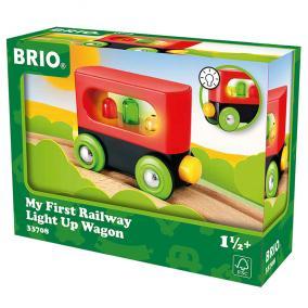Első világító vonatom 33708 Brio