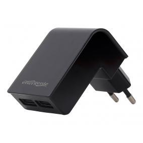 ENERGENIE EG-U2C2A-02 Energenie univerzális USB töltő 2.1A fekete