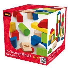 Építő szett, színes - 25 darabos 30114 Brio