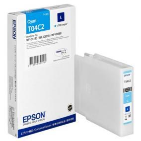 Epson T04C2 [C] 1,7k tintapatron (eredeti, új)