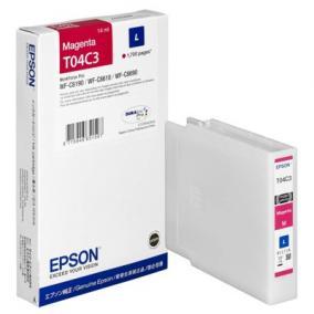 Epson T04C3 [M] 1,7k tintapatron (eredeti, új)