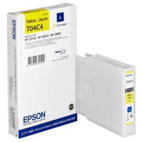 Epson T04C4 [Y] 1,7k tintapatron (eredeti, új)