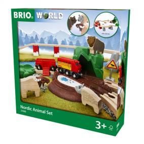 Erdei állatok vonaszett 33988 Brio