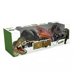 Eurekakids 104735801 3 db Dino Autó