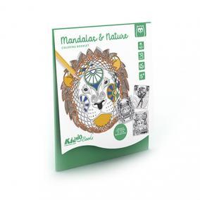 Eurekakids 10485041 Színező Könyv, Mandala