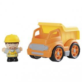 Eurekakids 1539410 Mini Teherautó Figurával