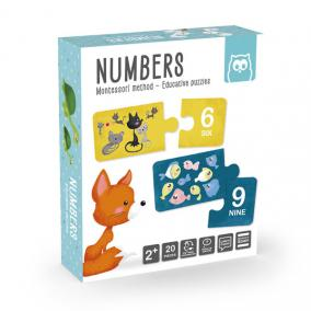 Eurekakids 483024 Montessori Puzzle -számok