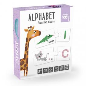 Eurekakids 483025 Oktatási puzzle ábécé