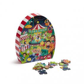 Eurekakids 68217012 Puzzle Vidámpark 100db