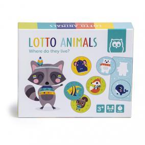 Eurekakids 691840431 Lotto játék, állatok