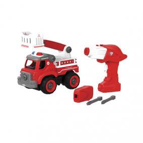 Eurekakids 746408034 Tűzoltóautó és rádióvezérlés