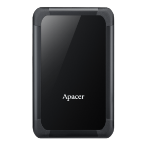 External HDD Apacer AC532 2.5'' 2TB USB 3.1, shockproof, Black