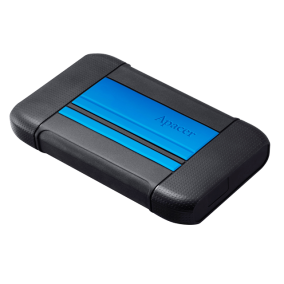 External HDD Apacer AC633 2.5'' 1TB USB 3.1, shockproof military grade, Blue