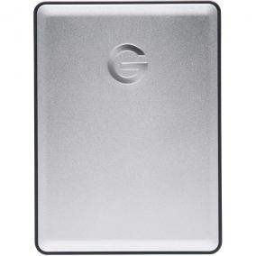 External HDD G-DRIVE mobile, 2.5'', 1TB, USB 3.0, silver