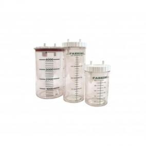 Váladékszívóhoz műanyag tartály 2L autoklávozható Fazzini