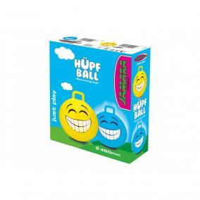 Felfújható ugráló smile labda, sárga 460457 Jamara
