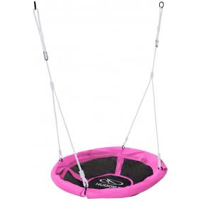 Fészekhinta 90 cm rózsaszín Hudora