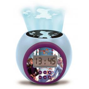 Frozen projektoros ébresztő óra hanggal és időzítővel