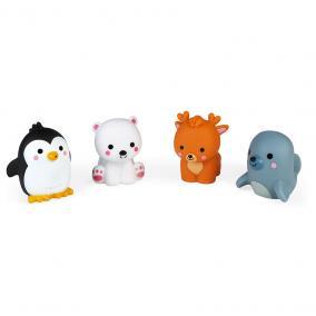 Fürdőjáték 4 sarkvidéki állat  04704 Janod