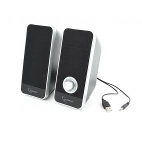 Gembird Desktop Multimedia Stereo Speakers set 2.0 ''Tornado'', RMS 6W, black