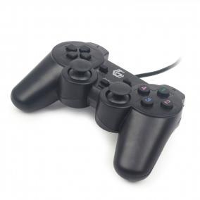 Játék kontroller, vezetékes, USB, GEMBIRD