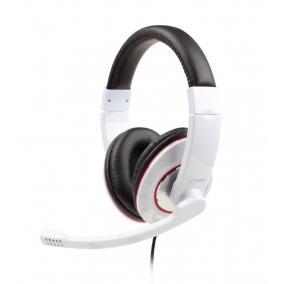 Gembird MHS-001-GW Stereo mikrofonos USB fejhallgató, vezetékes, fehér