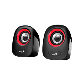 Genius Speakers SP-Q160, USB, Red